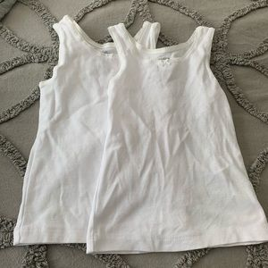 NWOT OshKosh B'Gosh White Tank Tops